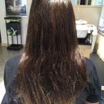 long brunette hair style